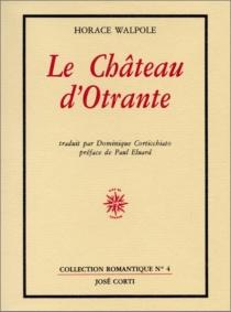 Le Château d'Otrante - HoraceWalpole