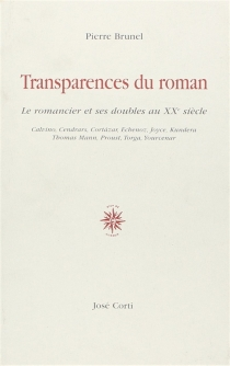 Transparences du roman : le romancier et ses doubles au XXe siècle - PierreBrunel