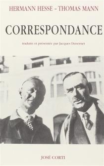 Correspondance - HermannHesse