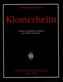 Klosterheim - ThomasDe Quincey