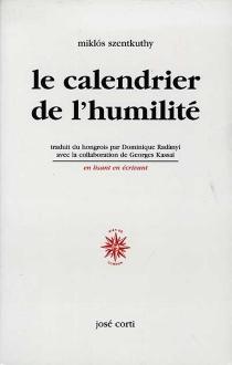 Le calendrier de l'humilité - MiklósSzentkuthy
