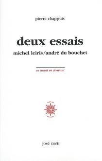 Deux essais - PierreChappuis