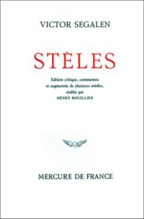Stèles - VictorSegalen