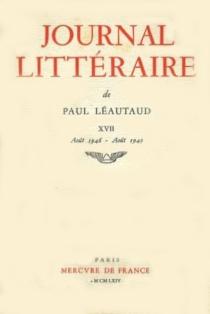 Journal littéraire - PaulLéautaud