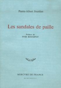 Les Sandales de paille - Pierre-AlbertJourdan