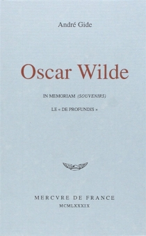 Oscar Wilde - AndréGide
