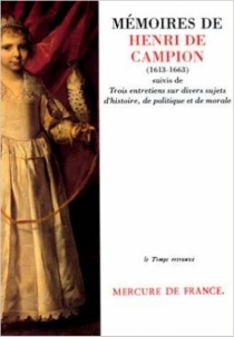 Mémoires| Trois entretiens sur divers sujets d'histoire, de politique et de morale - Henri deCampion