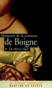 Mémoires - Éléonore-Adèle d'OsmondBoigne