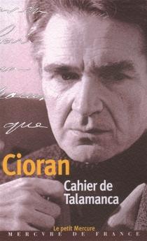 Cahier de Talamanca : (Ibiza 31 juillet-25 août 1966) - EmilCioran