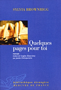 Quelques pages pour toi - SylviaBrownrigg