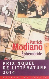 Ephéméride - PatrickModiano