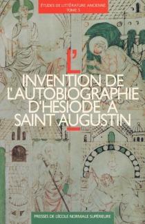 Etudes de littérature ancienne - Equipe de recherche sur l'hellénisme post-classique . Colloque (2 ; 1990 ; Paris)