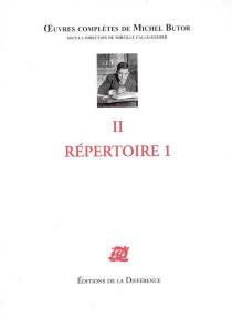 Michel Butor  Oeuvres complètes de Michel Butor  sous la direction de Mireille Calle-Gruber - MichelButor