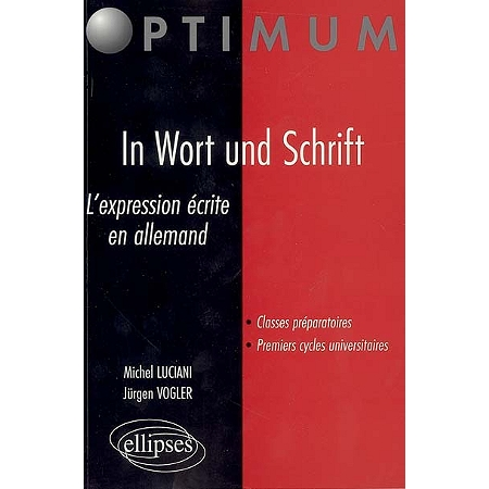 In wort und schrift l 39 expression crite en allemand - Office allemand d echanges universitaires ...