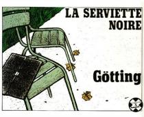 La Serviette noire - Jean-ClaudeGötting