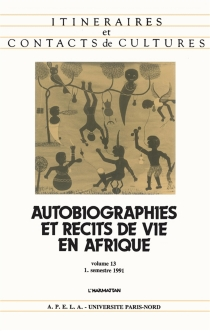 Itinéraires et contact de cultures, n° 13 -