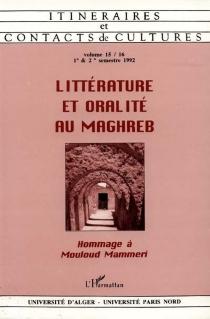Itinéraires et contact de cultures, n° 15-16 -