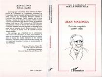 Jean Malonga, écrivain congolais (1907-1985) -