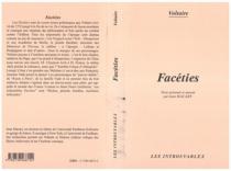 Facéties - Voltaire
