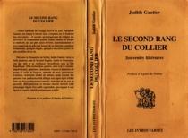 Le second rang du collier : souvenirs littéraires - JudithGautier
