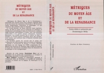 Métriques du Moyen Age et de la Renaissance -