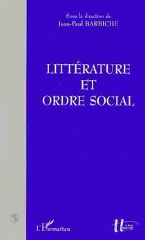 Littérature et ordre social -