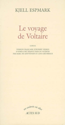 Le voyage de Voltaire : conte - KjellEspmark