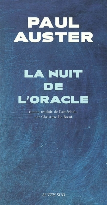 La nuit de l'oracle - Paul Auster