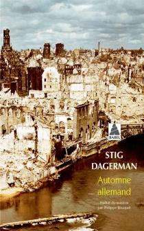 Automne allemand - StigDagerman
