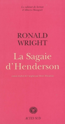 La sagaie d'Henderson - RonaldWright