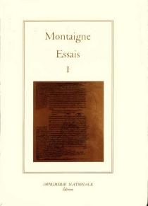 Essais - Michel deMontaigne
