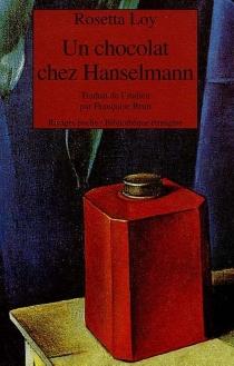 Un chocolat chez Hanselmann - RosettaLoy