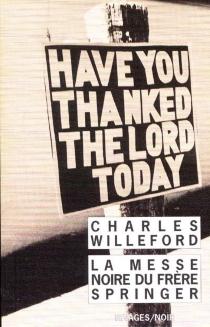 La messe noire du frère Springer - CharlesWilleford