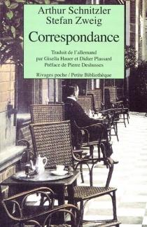 Correspondance - ArthurSchnitzler