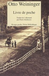 Livre de poche et lettres - OttoWeininger