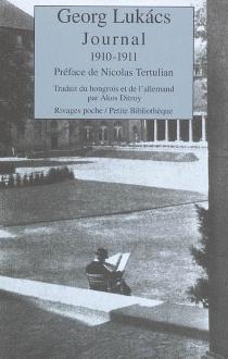 Journal : 1910-1911 - GyörgyLukács