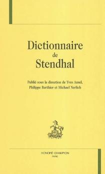 Dictionnaire de Stendhal -