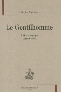 Le gentilhomme - NicolasPasquier