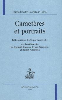 Caractères et portraits - Charles Joseph deLigne