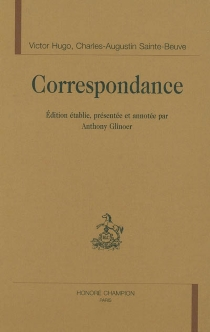 Correspondance - VictorHugo