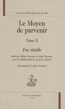 Le moyen de parvenir - FrançoisBéroalde de Verville