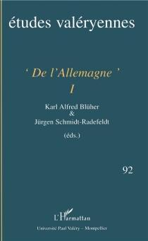 Etudes valéryennes, n° 92 -