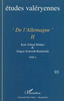 Etudes valéryennes, n° 93 -