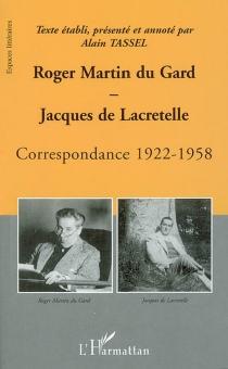 Correspondance 1922-1958 - Jacques deLacretelle