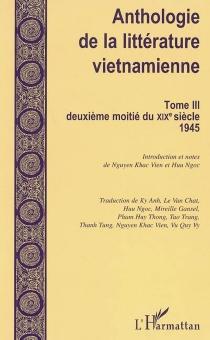 Anthologie de la littérature vietnamienne -