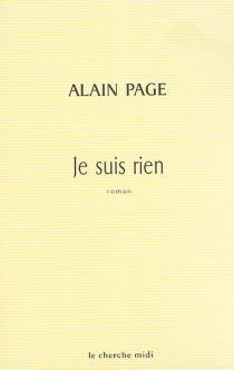 Je suis rien - AlainPage