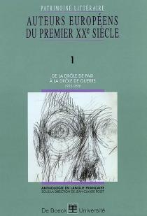 Patrimoine littéraire européen : anthologie en langue française -
