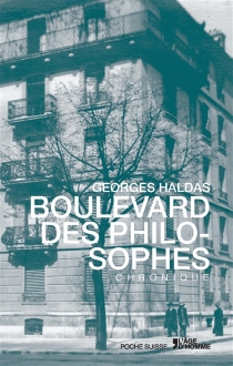 Le Boulevard des philosophes - GeorgesHaldas