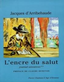 Journal amoureux - Jacques d'Arribehaude
