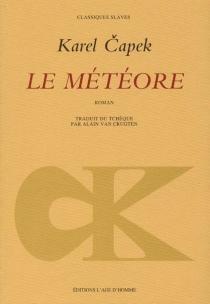 Le météore - KarelCapek